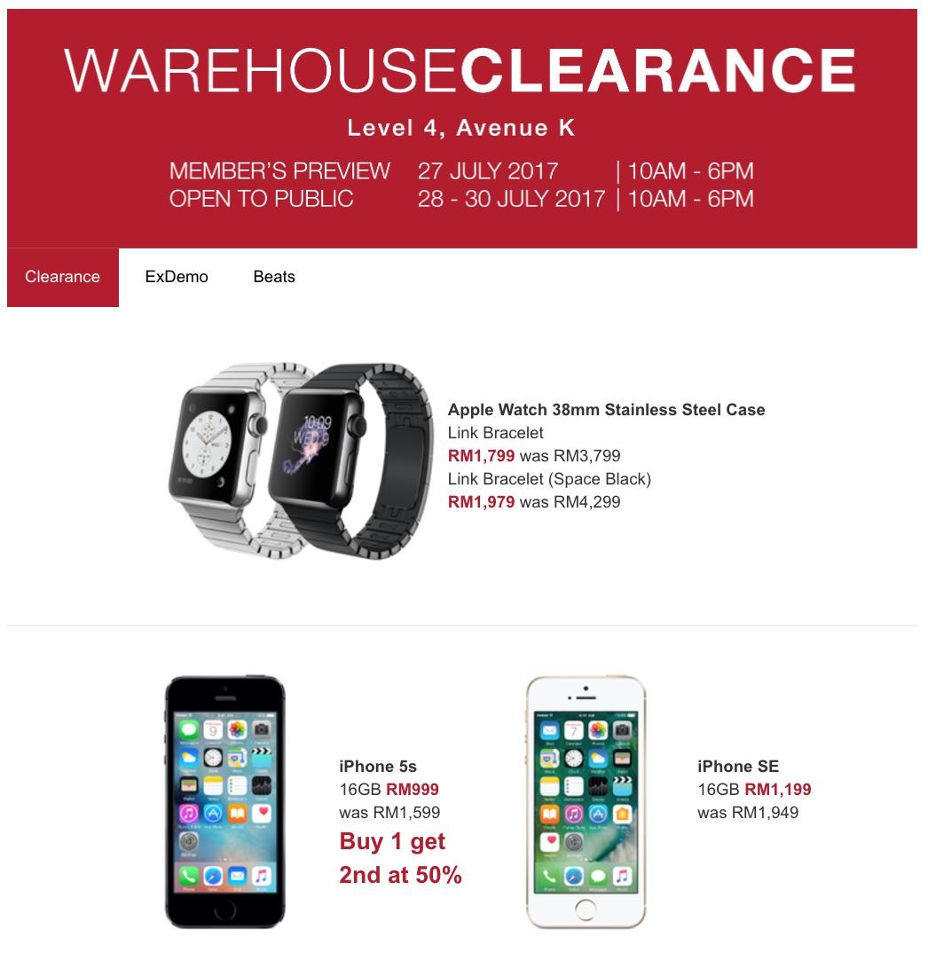 Apple IPhones IPads MacBook Air Pro IMac Warehouse Clearance Sale Avenue K 27