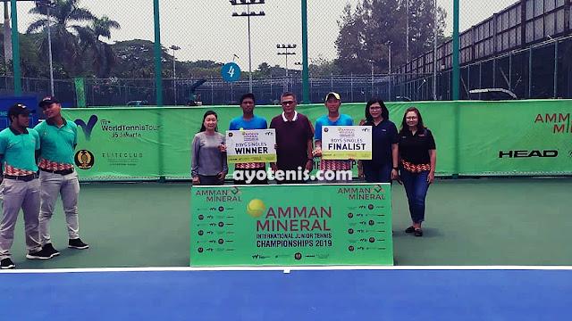 Gugun Sabet Juara ITF J5 Jakarta. Bonit Wiryawan Sukses Sebagai Pemain dan Pelatih