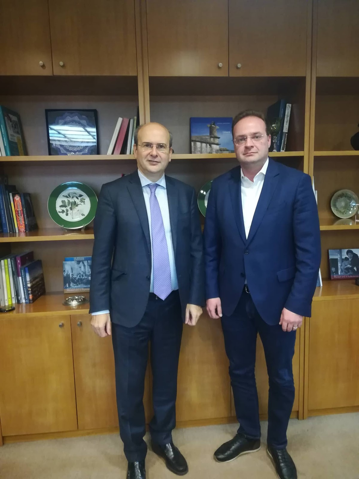 Δήλωση Δημάρχου Αριστοτέλη Στ.Βαλιάνου για τη συνάντηση με τον Υπουργό Περιβάλλοντος και Ενέργειας Κ.Χατζηδάκη