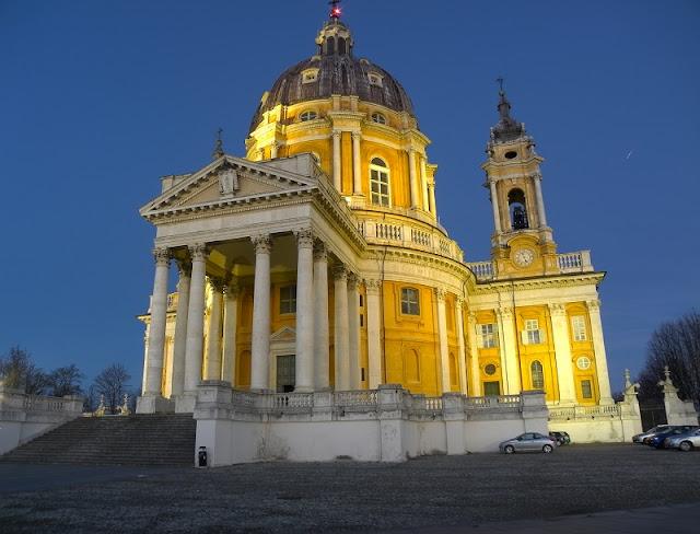 Basílica Superga em Turim na Itália