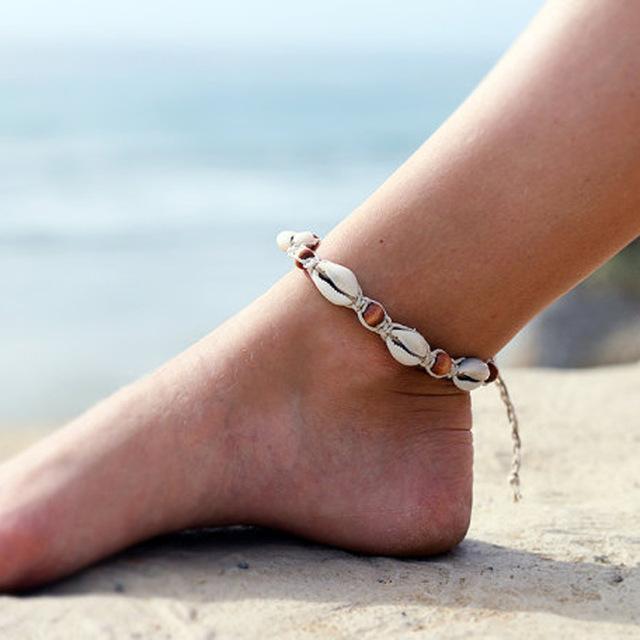 plajda ayak süsleme