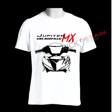 Sablon Kaos - T-shirt Motif Jupiter MX KING | Tanjungbalai