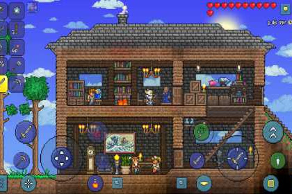 Terraria Mod 2.974 Apk (Free Items) + Data For Android