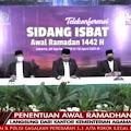 Pemerintah Tetapkan 1 Ramadhan 1442 H Jatuh Pada Selasa 13 April 2021