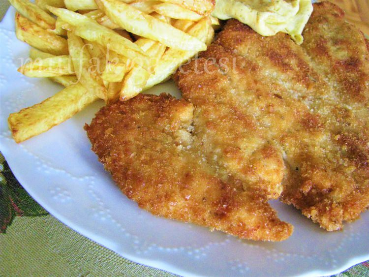 Wiener Schnitzel -Viyana Şinitzel
