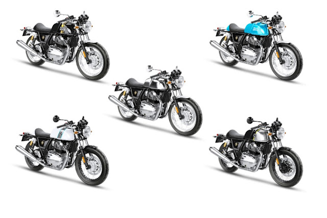 Royal Enfield Continental GT 650 all colors