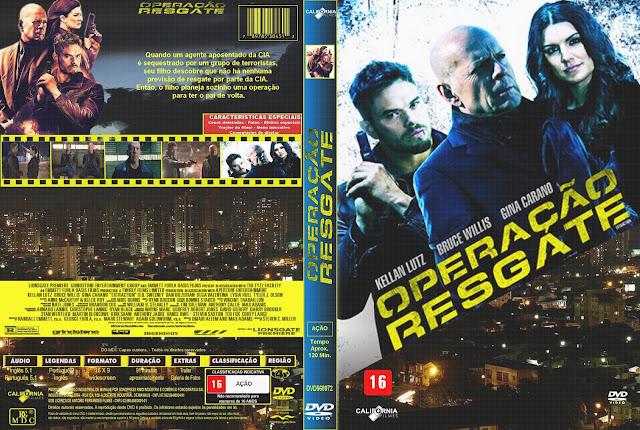 Capa DVD Operação Resgate