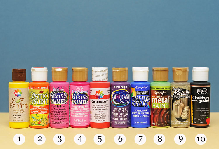 Ben Franklin Crafts And Frame Shop Acrylic Paints Which One Should I Use