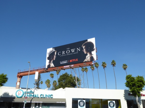 Crown season 1 billboard