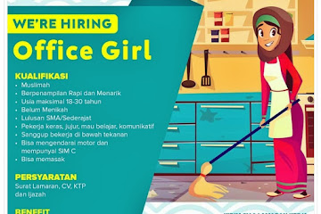 Loker Bandung Staff Office Girl Sarana Berbagi