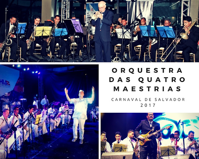 Orquestra das Quatro Maestrias abre o Carnaval Salvador 2017