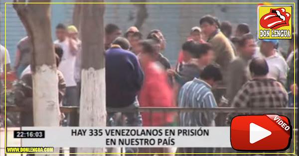 Aumentó en 600% el número de presos venezolanos en cárceles del Perú