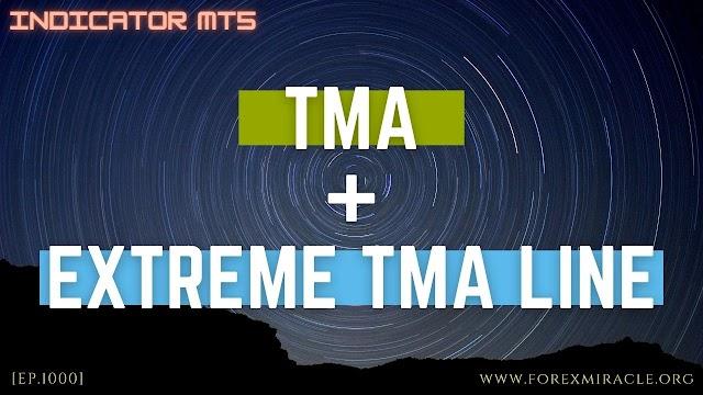 สอน Forex เบื้องต้น : อินดิเคเตอร์บอกแนวโน้ม แนวรับแนวต้านด้วย TMA และ Extreme TMA Line MT5