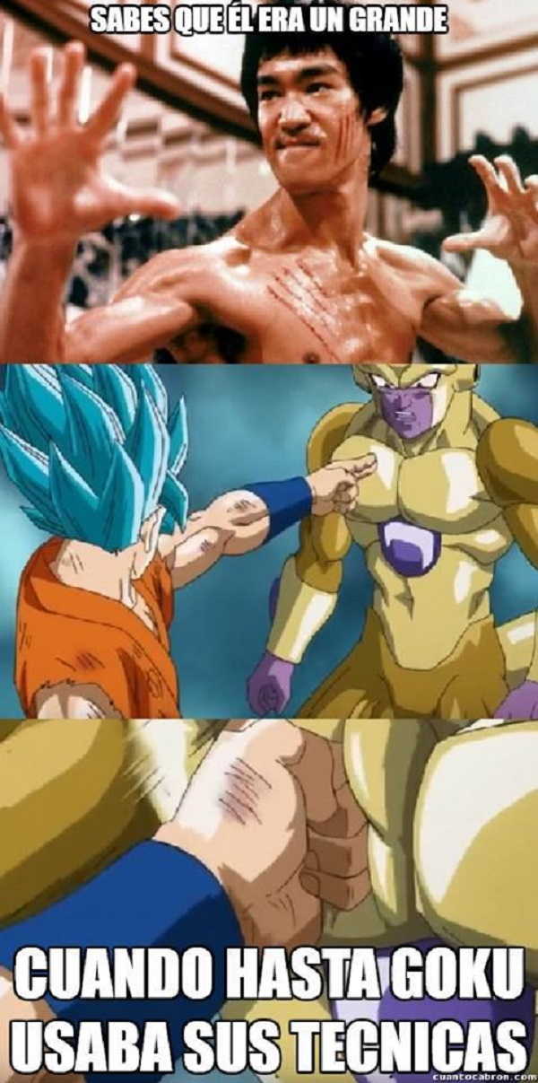Hasta Goku usaba sus técnicas