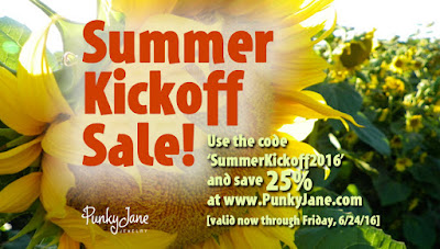 Punky Jane's Summer Kickoff Sale! Save 25% This Week Only
