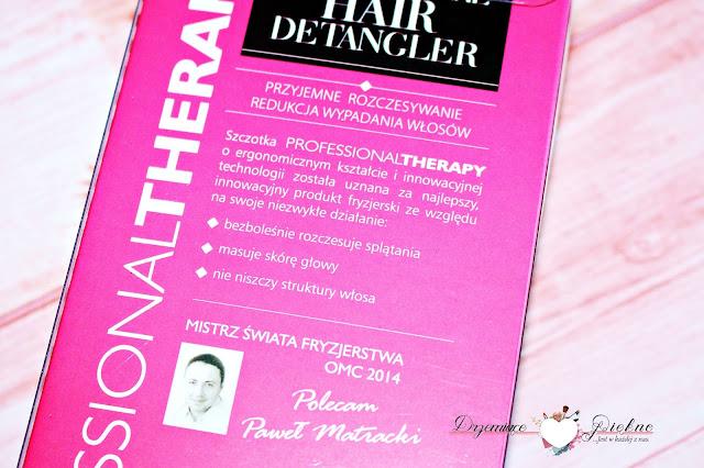 Szczotka do włosów Professional Hair Detangler L'biotica Professional Therapy