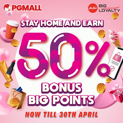 PG Mall, AirAsia Big Loyalty Points, Online Shopping