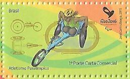 Selo Atletismo Paralímpico, RHM: C-3420