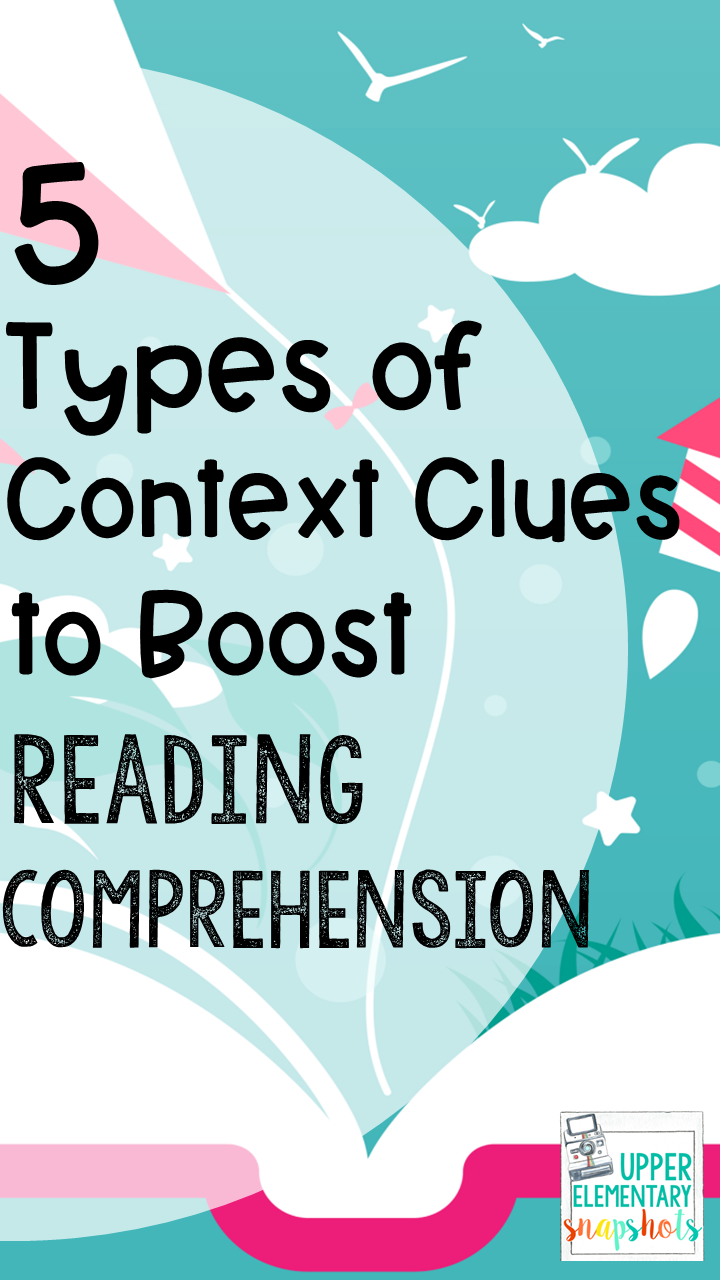 hight resolution of 5 Types of Context Clues to Boost Reading Comprehension   Upper Elementary  Snapshots