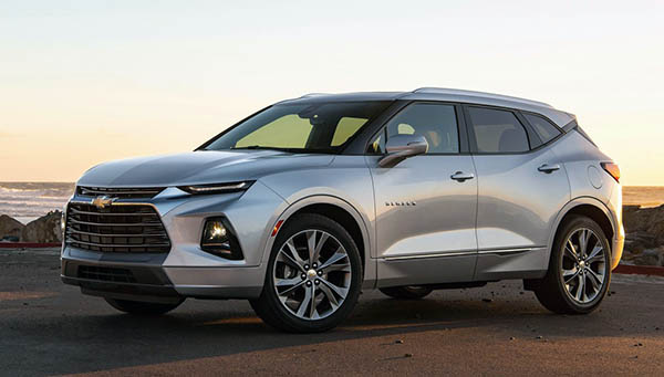 Burlappcar: More pictures of the 2020 Chevrolet Blazer