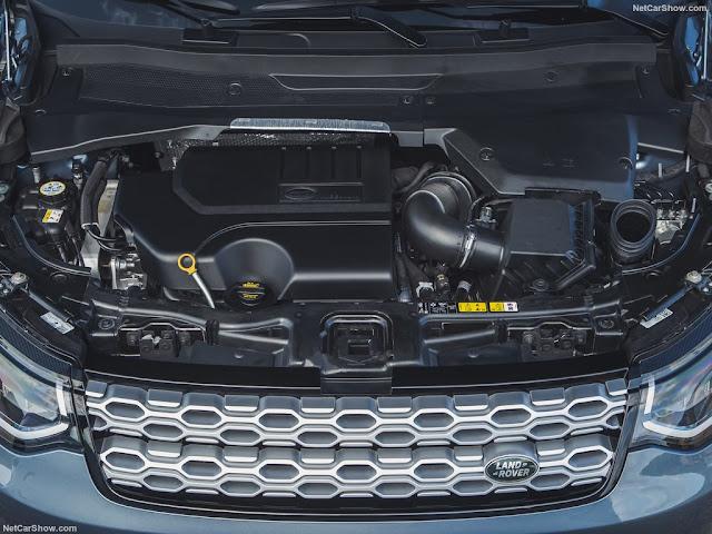 Land Rover Discovery Sport áp dụng một loạt các công nghệ tiên tiến