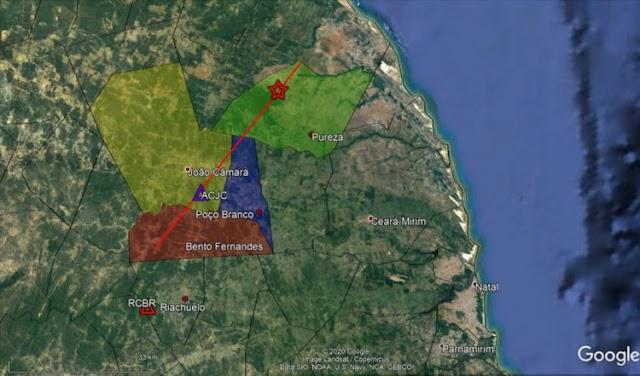UFRN registra tremores de terra no interior do estado e em meio ao Oceano Atlântico