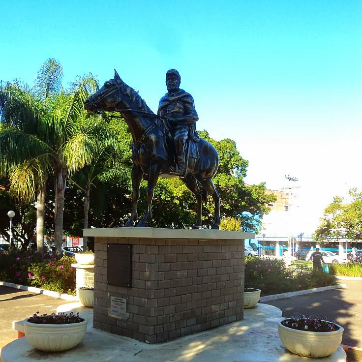 Marechal Osório, na Praça Central de Osório