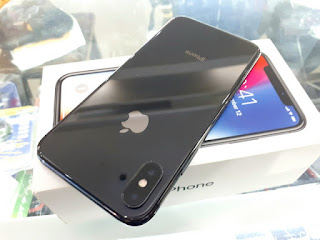 Hape Seken iPhone X 64GB 4G LTE Mulus Fullset Normal