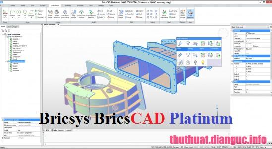 Download Bricsys BricsCAD Platinum 19.2.03.1 Full Cr@ck