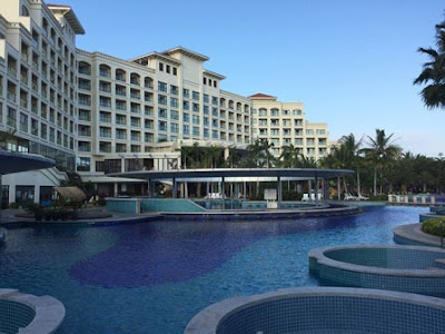 hotel resort yalong bay sanya hainan china