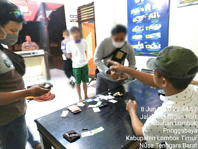 Ketahuan Bawa Sabu, 2 Warga Sumbawa Dibekuk Polsek KP3 Kayangan