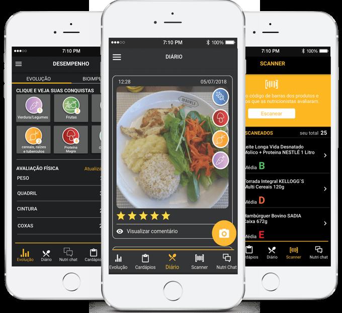 smartnutri - Aplicativo de nutrição exclusivo para você alcançar seus objetivos