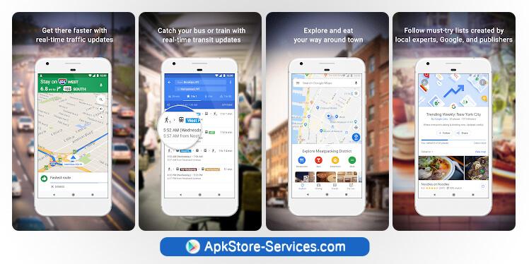 تطبيق خرائط جوجل - Google Maps