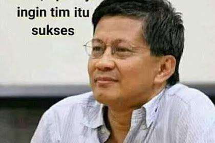 Cerdas! Rocky Gerung, Coba Tanya Jokowi Apakah Prabowo Pelanggar HAM?