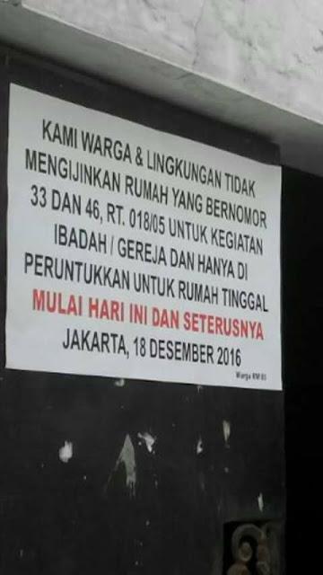 Ormas Fron Pembela Islam, FPI kembali berbuat ornar dalam kebebasan beragama