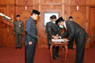 Gubernur Kembali Lantik Pj Sekda Provinsi Jambi