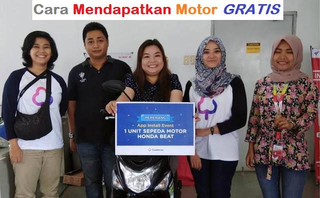 Cara Mendapatkan Motor Gratis Honda Beat Dari Internet  Cara Mendapatkan Motor Gratis Honda Beat Dari Internet 2018