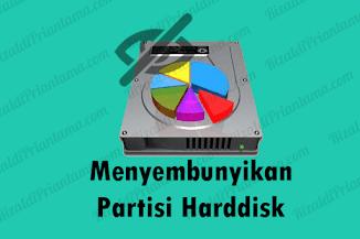 Cara Menyembunyikan Partisi Harddisk pada Windows