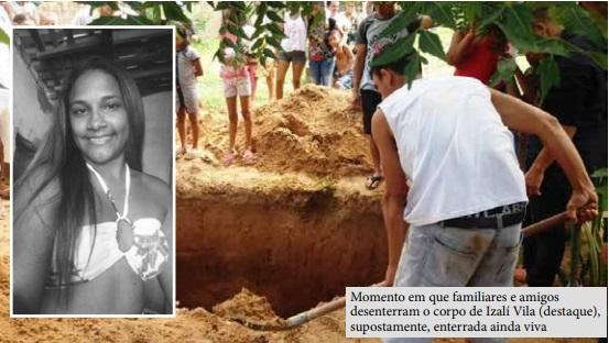 Caso de mulher que teria sido enterrada viva em Tutóia está sendo investigado pela Polícia