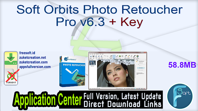 Soft Orbits Photo Retoucher Pro v6.3 + Key