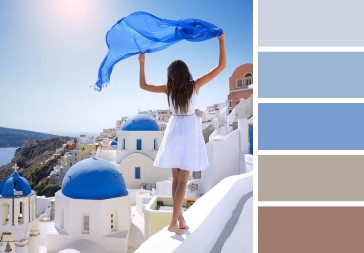 Greece Color Palette