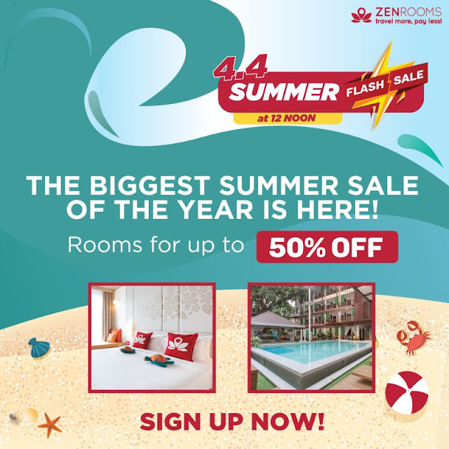 Zen Rooms Summer Sale