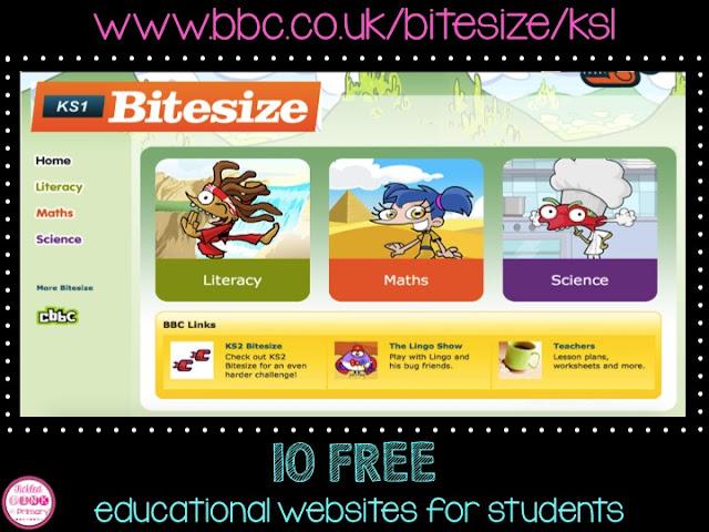 FREE Educational Websites for Students -BBC Bitesize