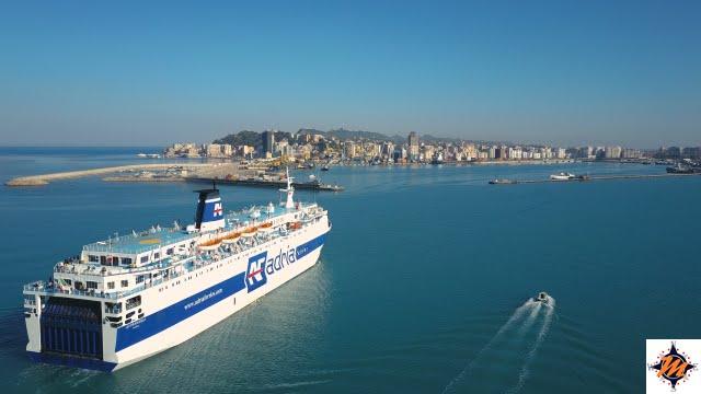 Adria Ferries. Bari-Durazzo
