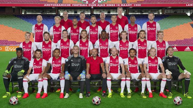 Skuad Ajax Amsterdam