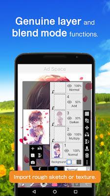 تحميل تطبيق الرسم الاحترافي ibis Paint X Full للأندرويد مجاناً