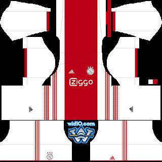 Ajax 2019 - 2020 Dream League Soccer fts 18 2018/2019 DLS & FTS Kits and Logo