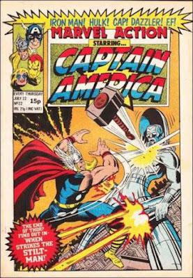Marvel Action #22, Thor vs the Stilt-Man