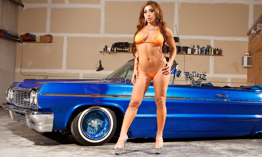 Lowrider girls and bikini babes models lowrider