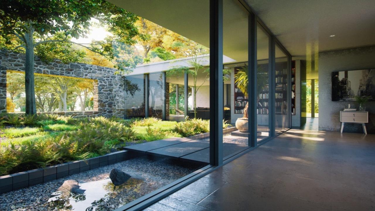 patios de casas comunes